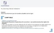 Service d'alerte email