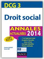 DCG 3 – Droit social Annales